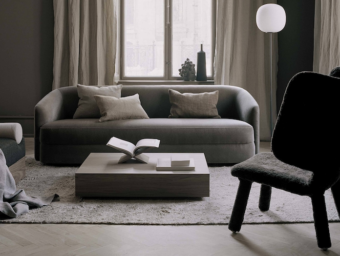 New Works Covent Sofa Three Seater Lifestyle 3