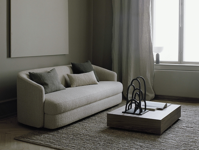 New Works Covent Sofa Three Seater Lifestyle
