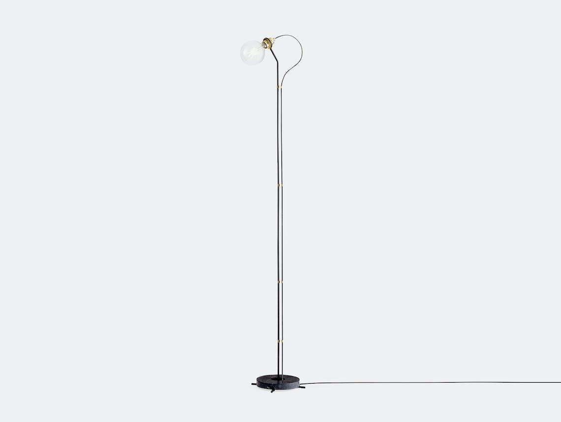 New Works Five Floor Lamp Black Gaspard Graulich