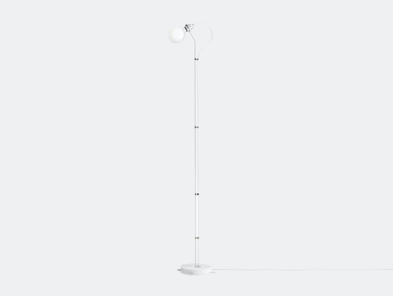 New Works Five Floor Lamp White Gaspard Graulich