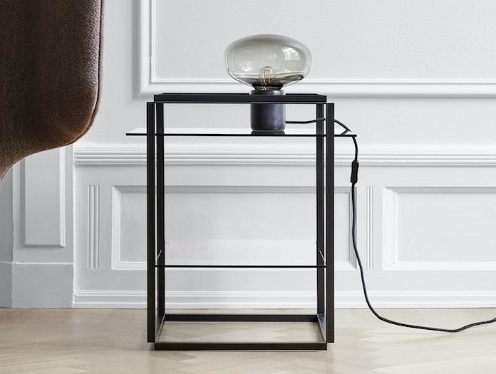 New Works Florence Side Table Karl Johan Table Lamp