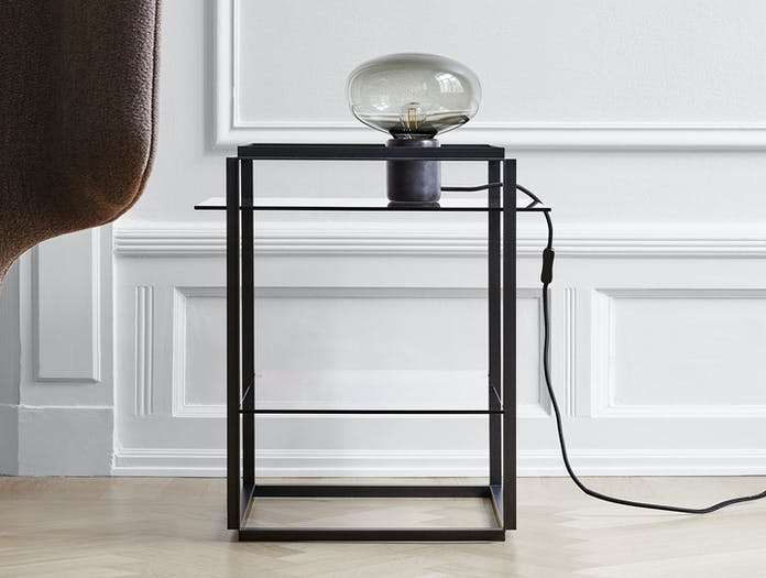 New Works Florence Side Table Karl Johan Table Lamp