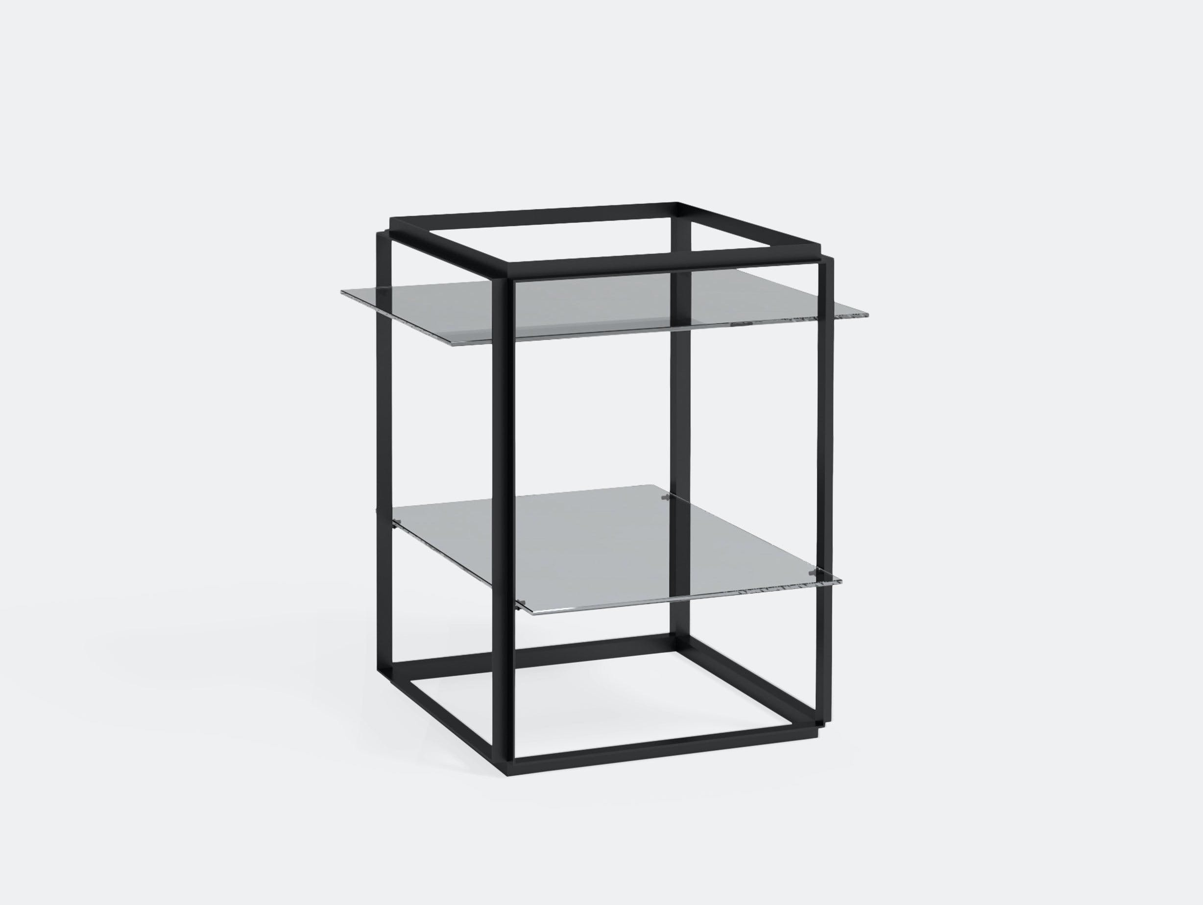 New Works Florence Side Table Black Humlevik Hedemann