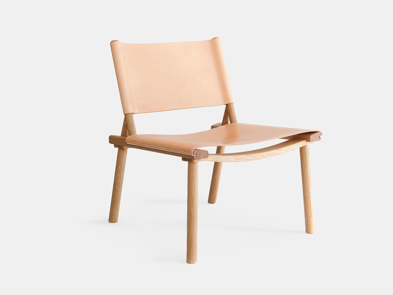 Nikari December Xl Lounge Chair Leather Jasper Morrison Wataru Kumano