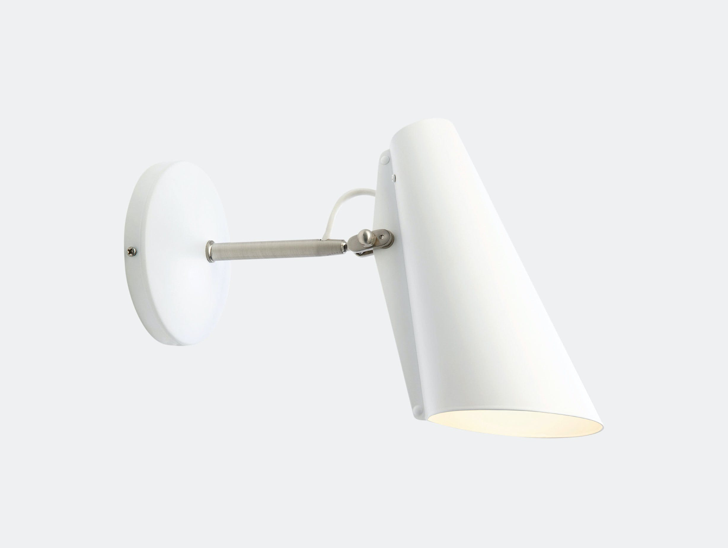 Northern Lighting Birdy Wall Short Arm White Birger Dahl