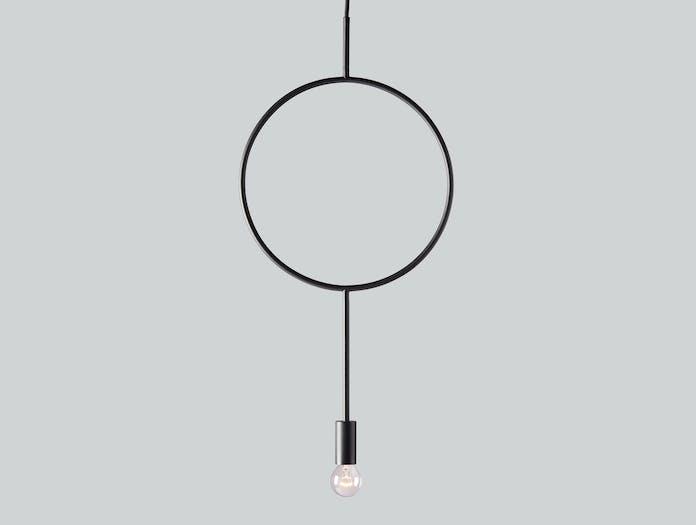 Northern Lighting Circle Pendant Light Hannakaisa Pekkala