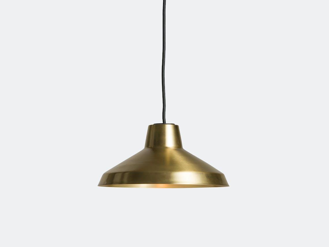 Northern Lighting Evergreen Small Brass Jens Praet Vibeke Skar