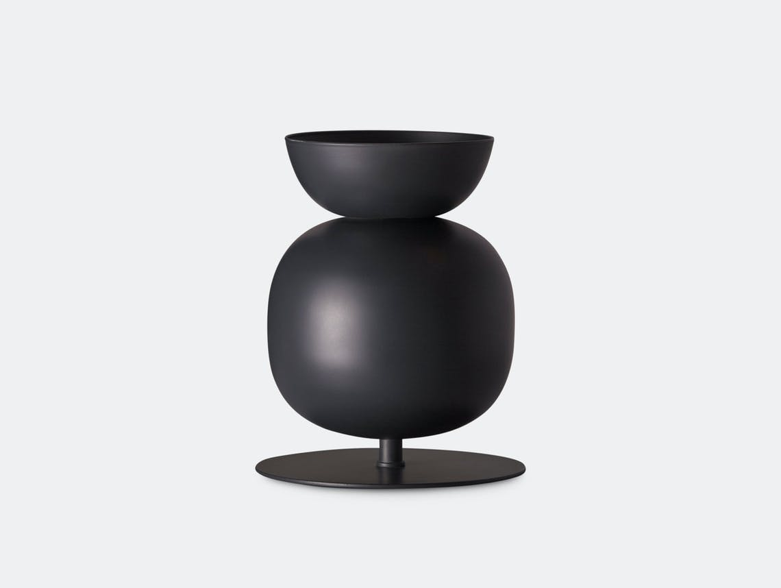 Northern Lighting Poppy Table Bold Black Grey