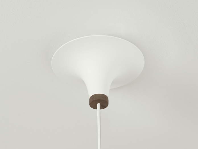 Northern Lighting Acorn Ceiling Canopy Dark Walnut