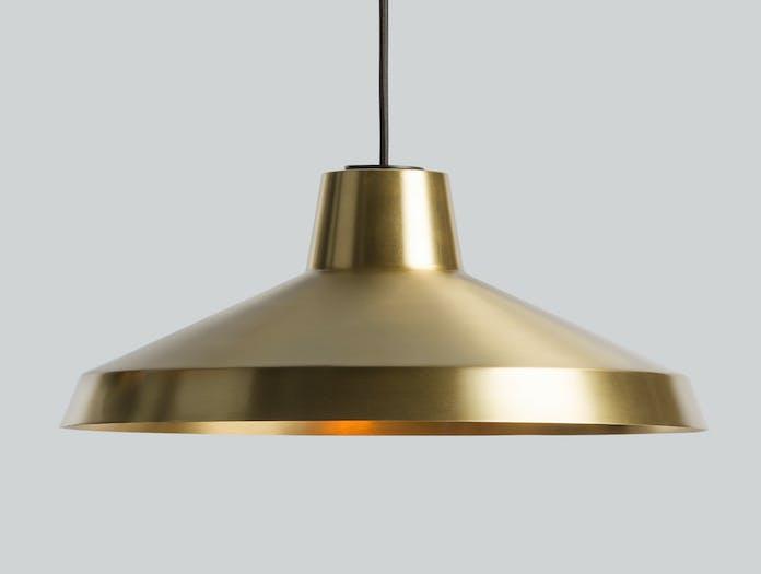 Northern Lighting Evergreen Brass Pendant Light 2 Jens Praet Vibeke Skar