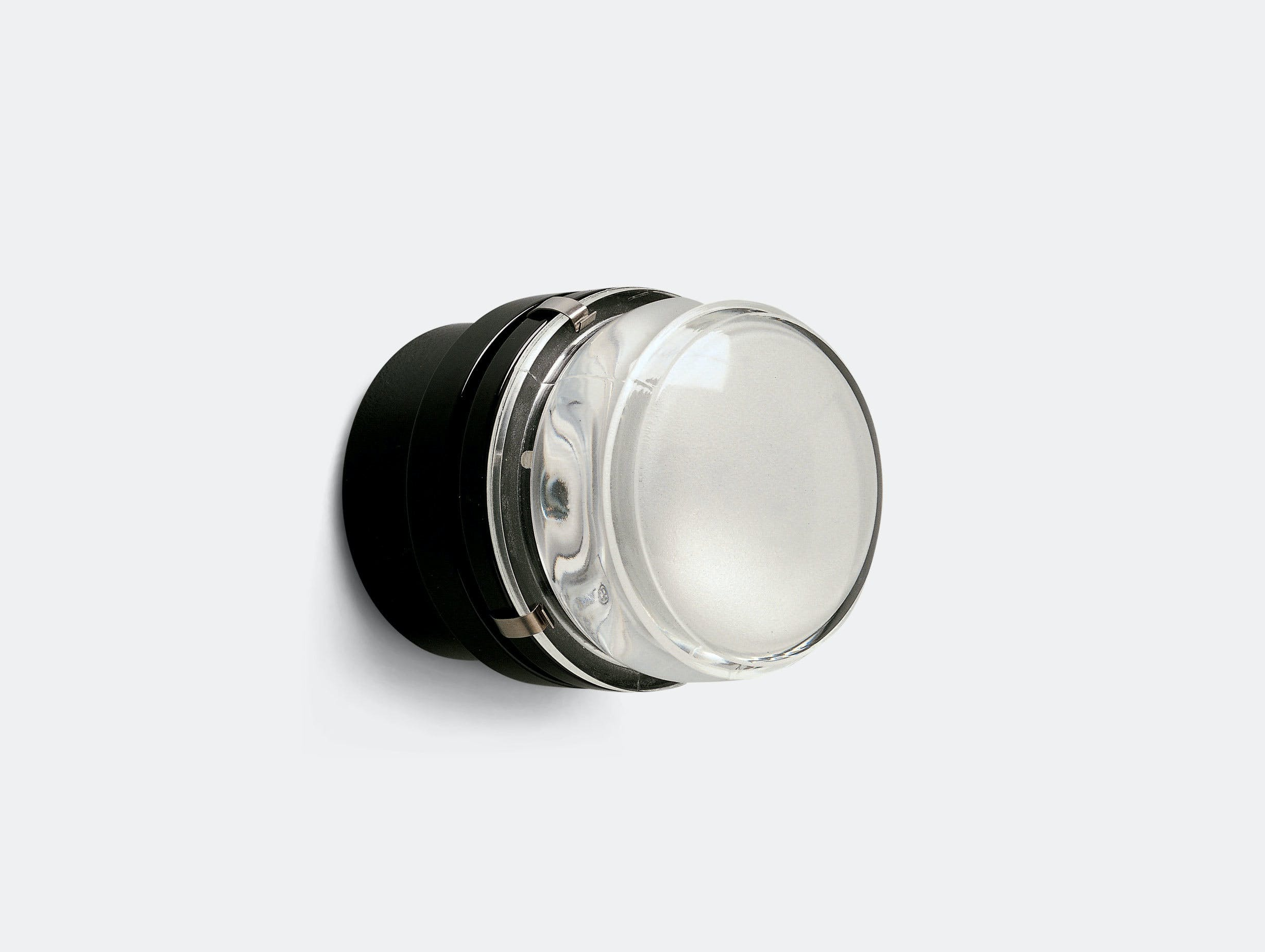 Oluce Fresnel Wall Light Led Black Joe Colombo