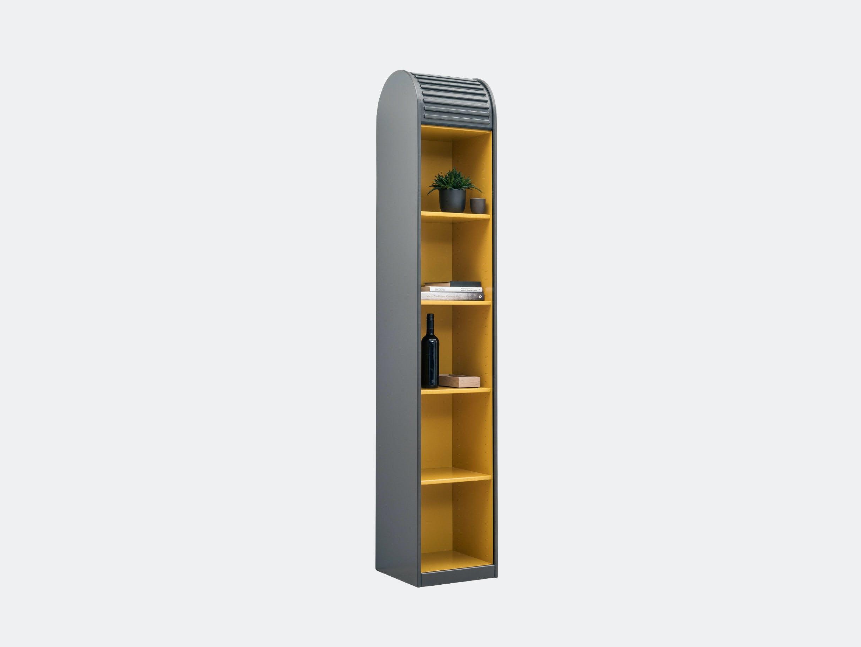 Pastoe A Dammer Roll Top Cabinet Basalt Ginger Aldo Van Den Nieuwelaar