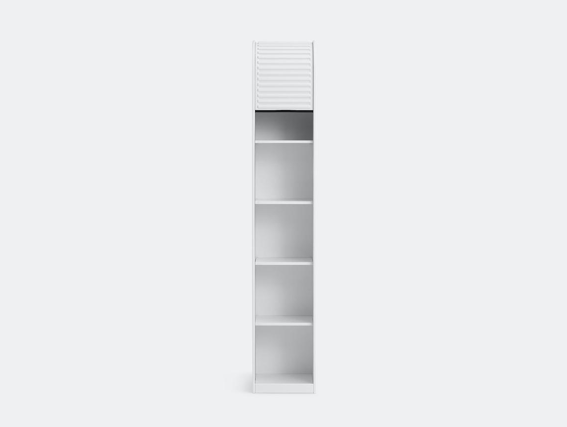 Pastoe A Dammer Roll Top Cabinet White Aldo Van Den Nieuwelaar