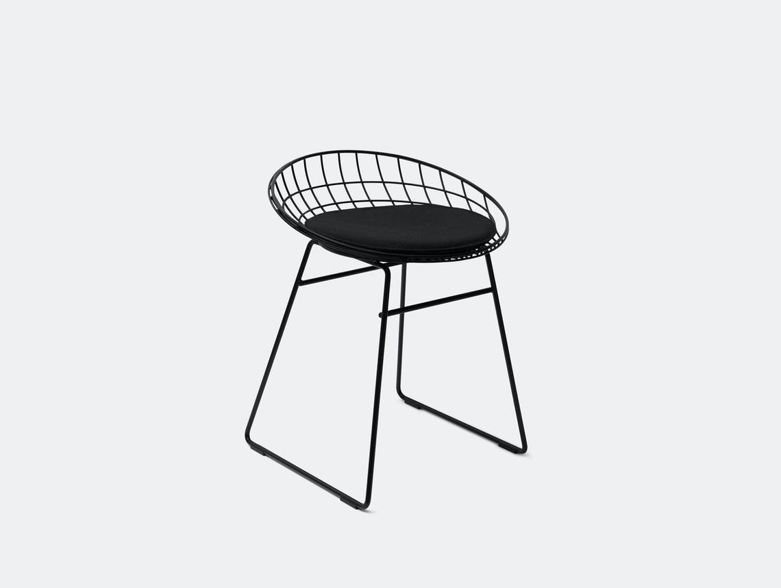 Pastoe Km05 Low Wire Stool Black Cees Braakman