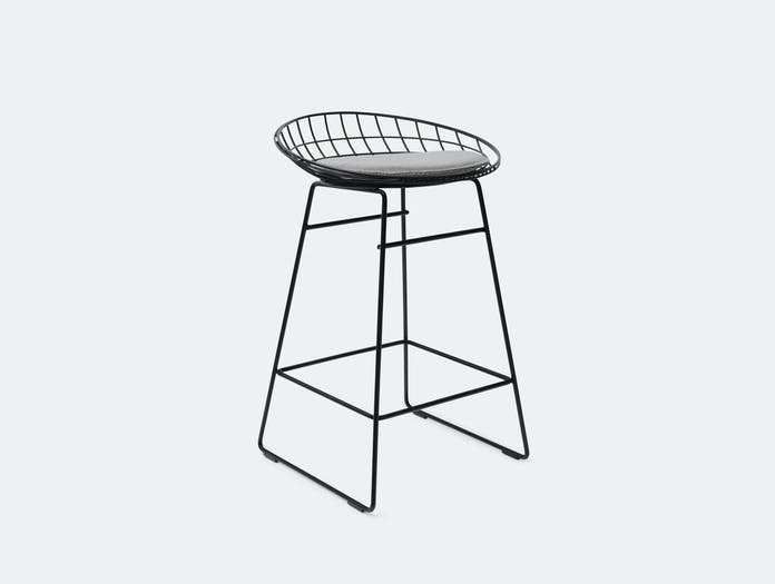 Pastoe Km06 Wire Stool Black Grey Cees Braakman
