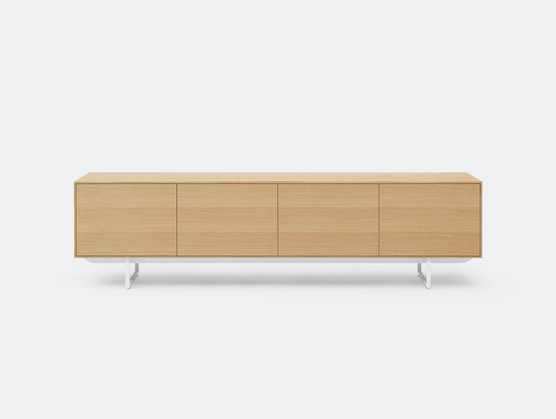 Pastoe Noon Sideboard Oak White Frame