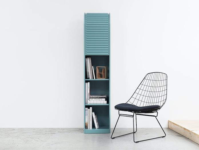 Pastoe A Dammer Roll Top Cabinet Fm06 Chair Aldo Van Den Nieuwelaar