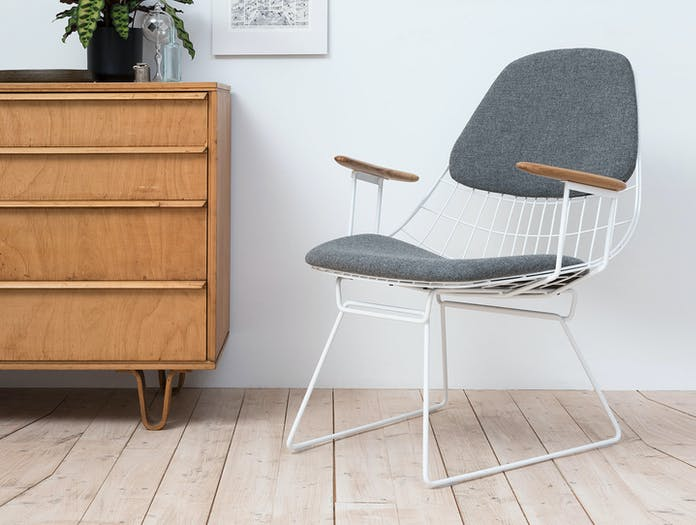 Pastoe Fm06 Wire Lounge Chair Cees Braakman