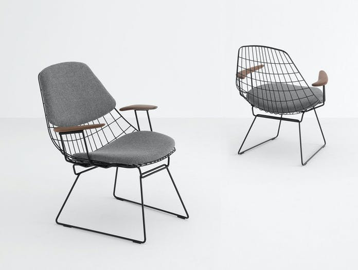 Pastoe Fm06 Wire Lounge Chairs Cees Braakman