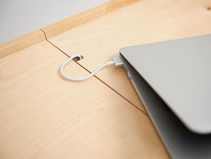 Pastoe Eb01 Desk Cable Hole Detail Cees Braakman