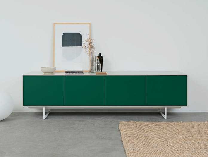 Pastoe Noon Sideboard White Green