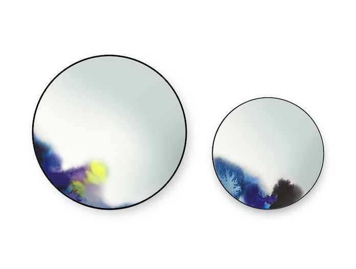 Petite Friture Francis Wall Mirror Blue Constance Guisset