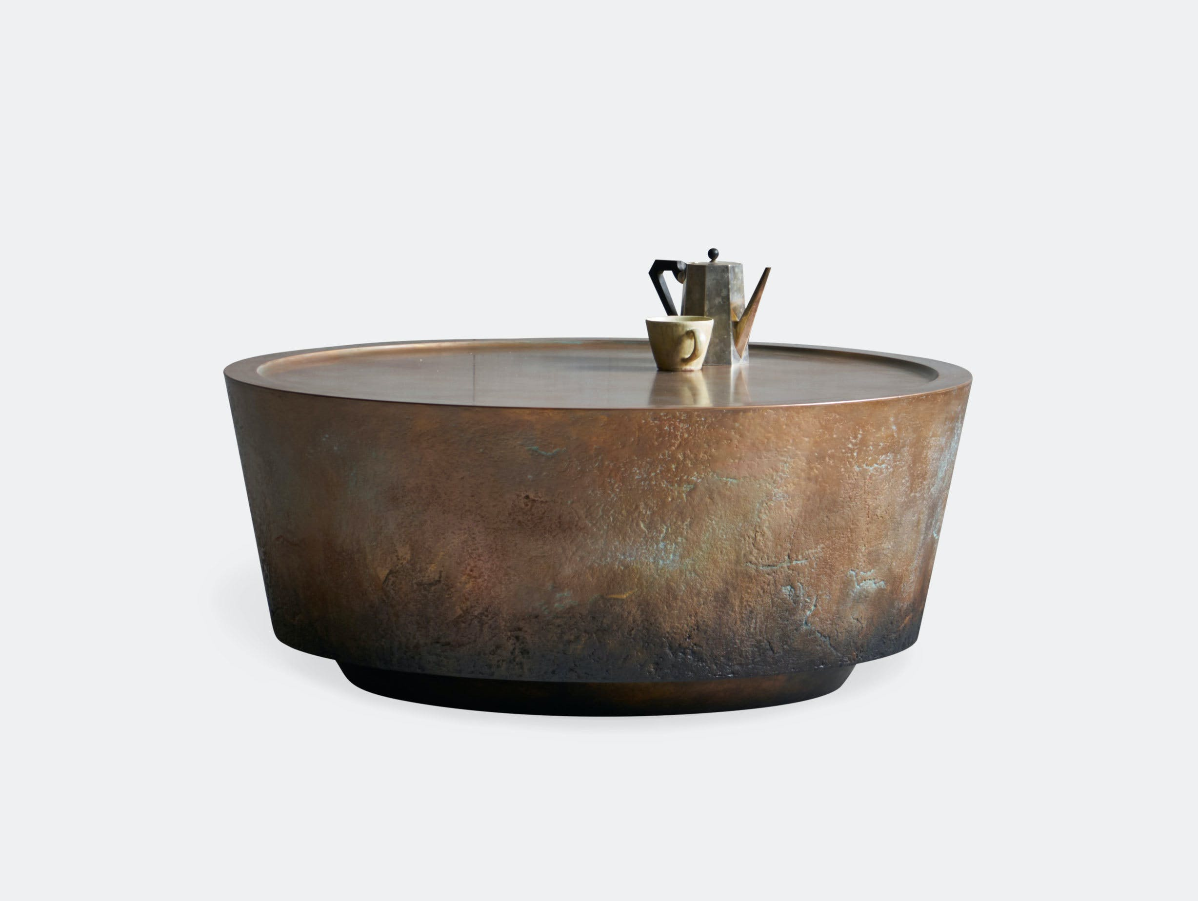 Pinch Nim Coffee Table Copper Russell Pinch Oona Bannon