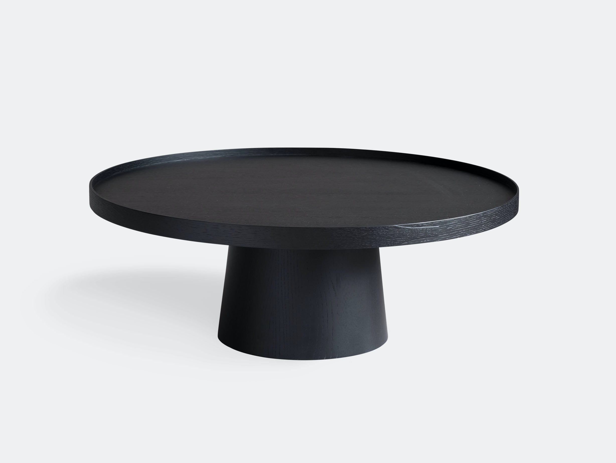 Pinch Rodan Coffee Table Black Oak Russell Pinch Oona Bannon