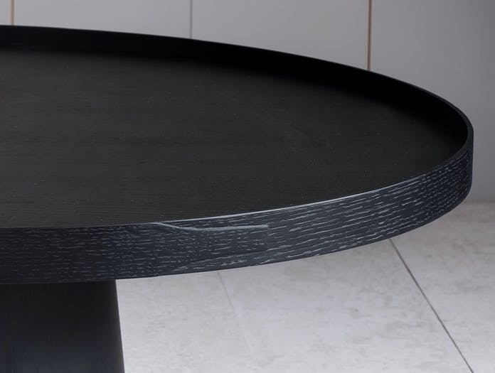Pinch Rodan Coffee Table Black Oak D Russell Pinch Oona Bannon