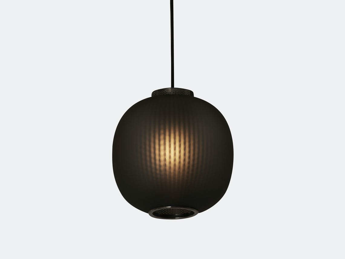 Resident Bloom Pendant Light Black Tim Rundle