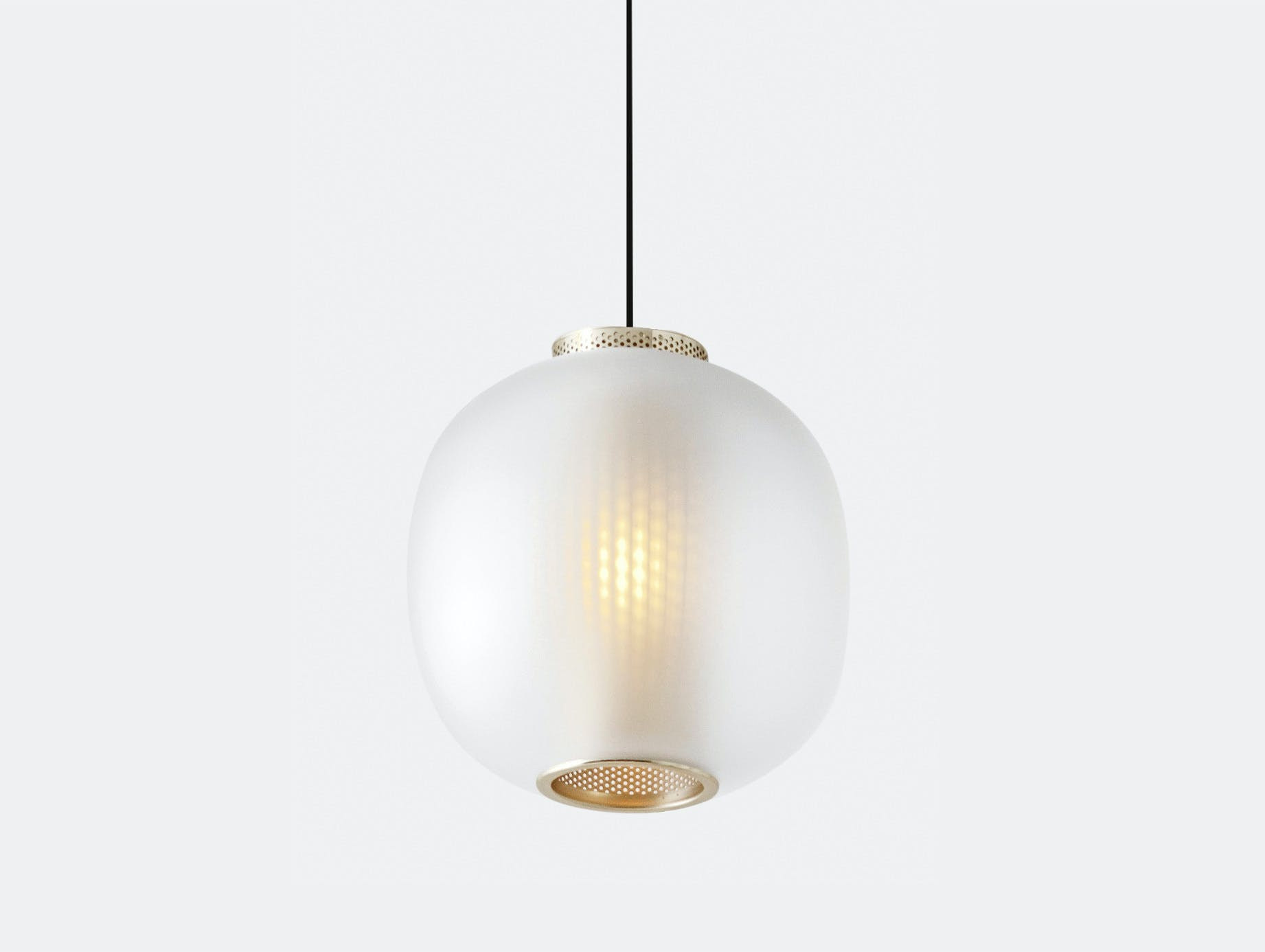 Resident Bloom Pendant Light White Tim Rundle