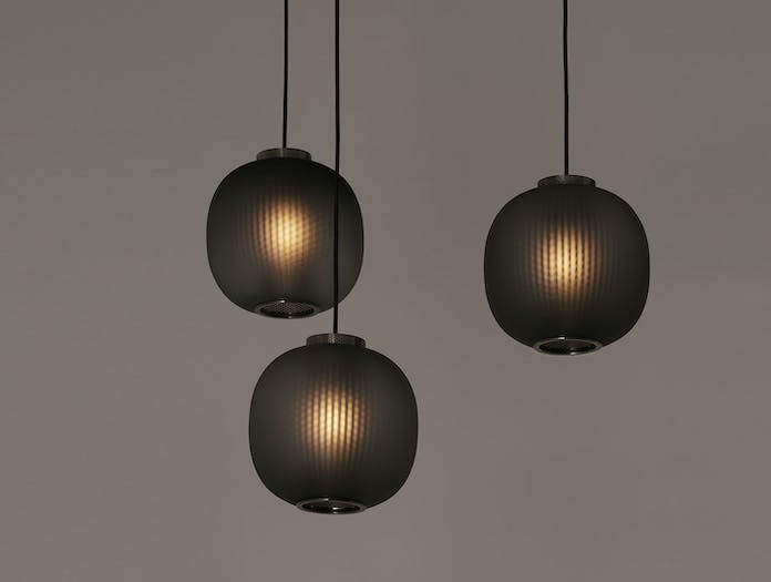 Resident Bloom Pendant Lights Black Tim Rundle