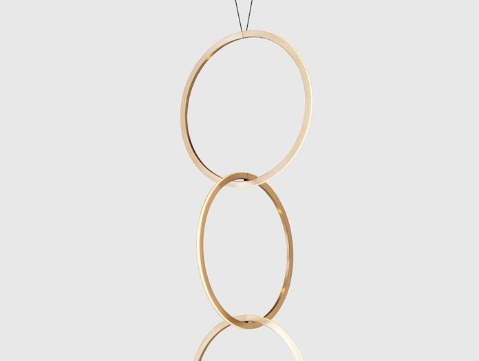 Resident Circus 750 Pendant Light Detail Brass