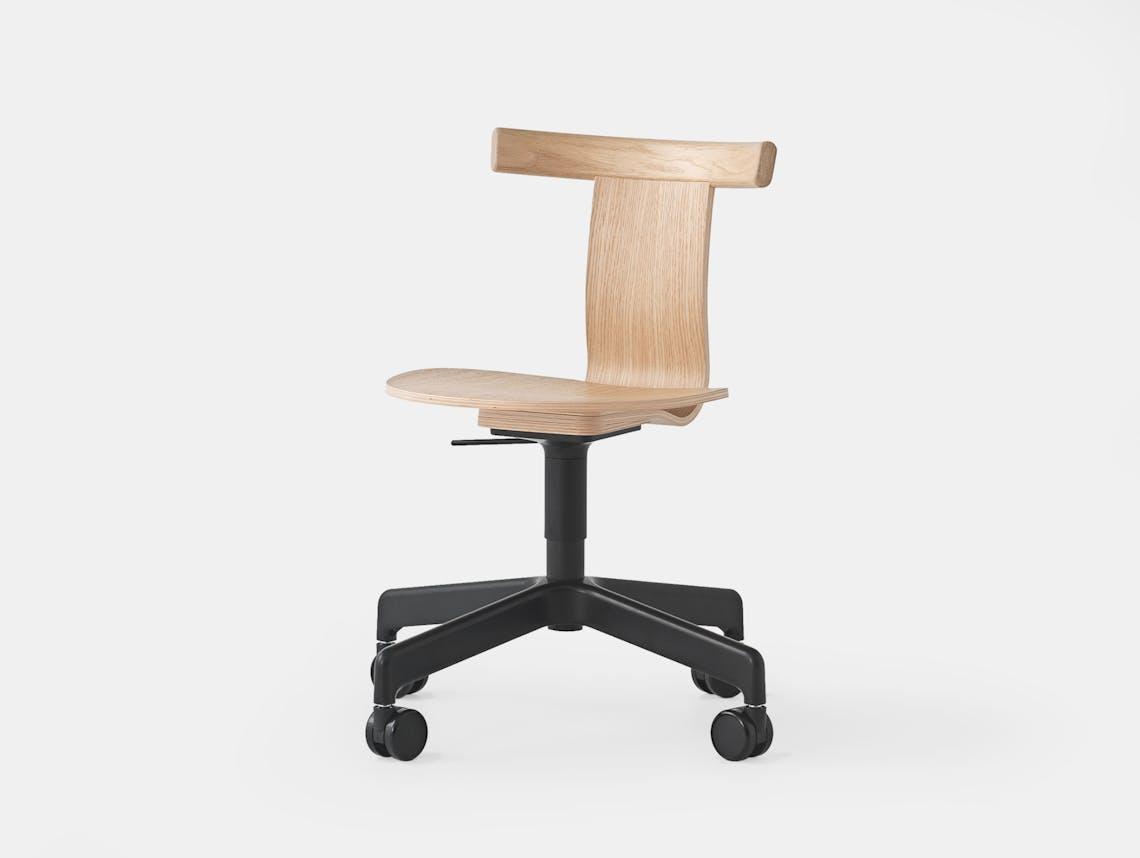 Resident Jiro Office Chair Oak 2