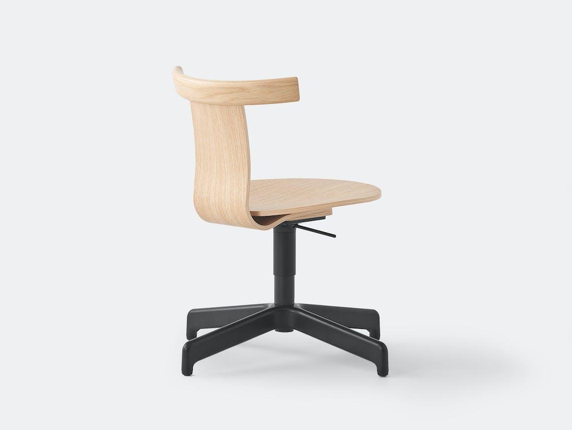 Resident Jiro Office Chair Oak 3