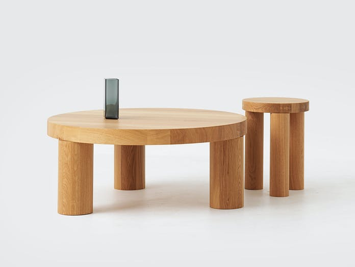 Resident Offset Table And Stool Philippe Malouin