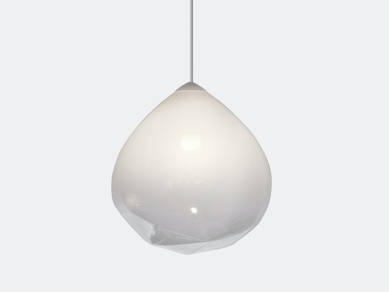 Resident Parison Pendant Light White Cheshire Architects