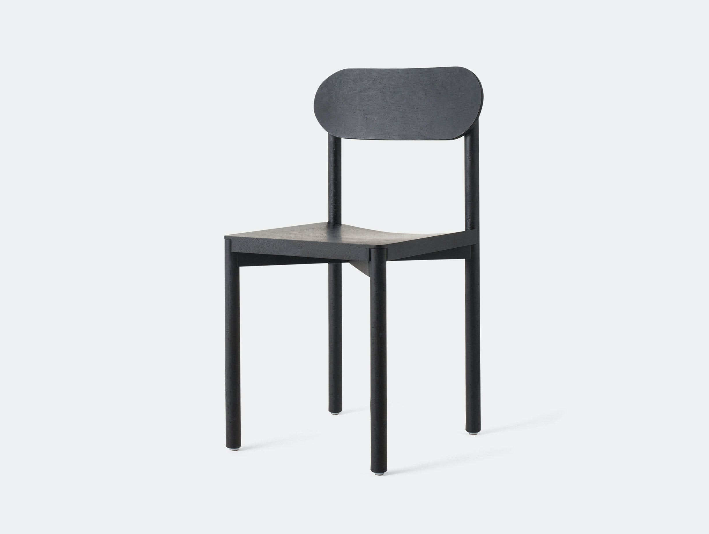 Resident Studio Chair Black Oak Jason Whiteley