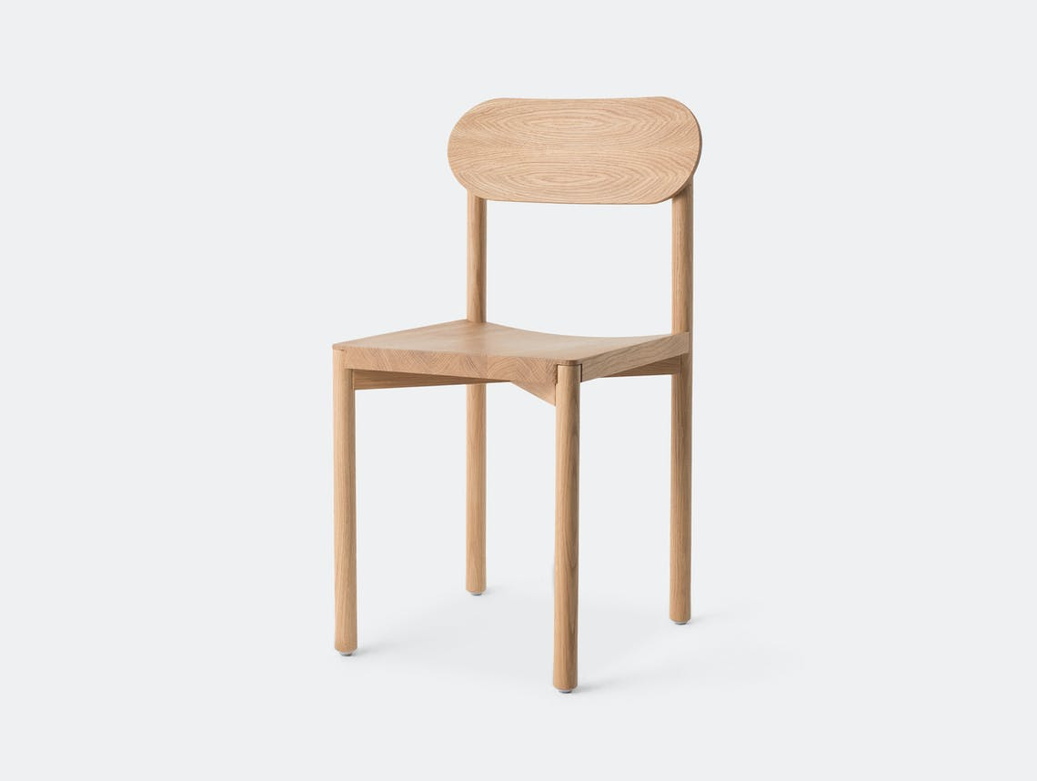 Resident Studio Chair Oak Jason Whiteley
