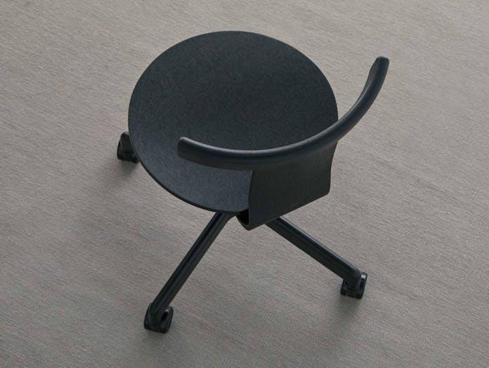 Resident jiro chair lifestyle black oak 2