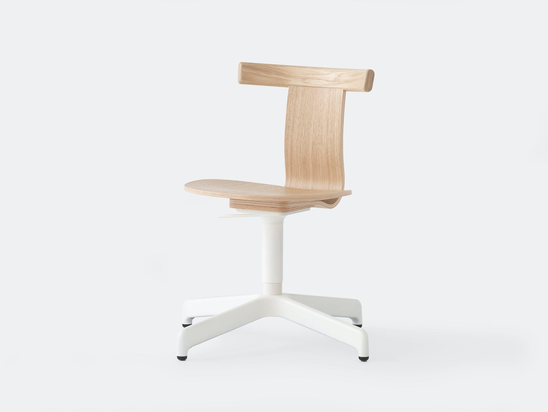 Resident jiro chair lifestyle oak white