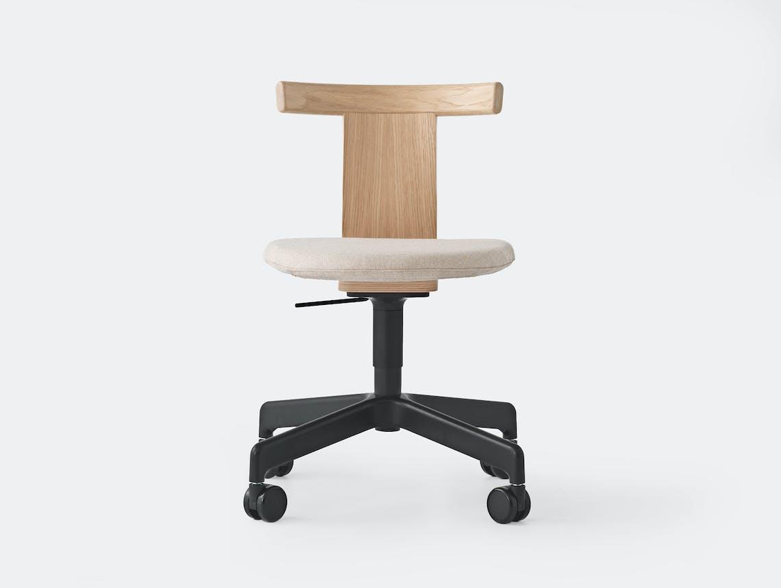 Resident jiro chair w fabric 1 castors 2