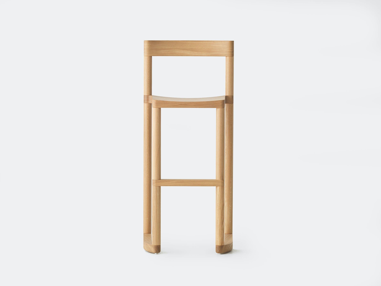 Resident pier bar stool oak