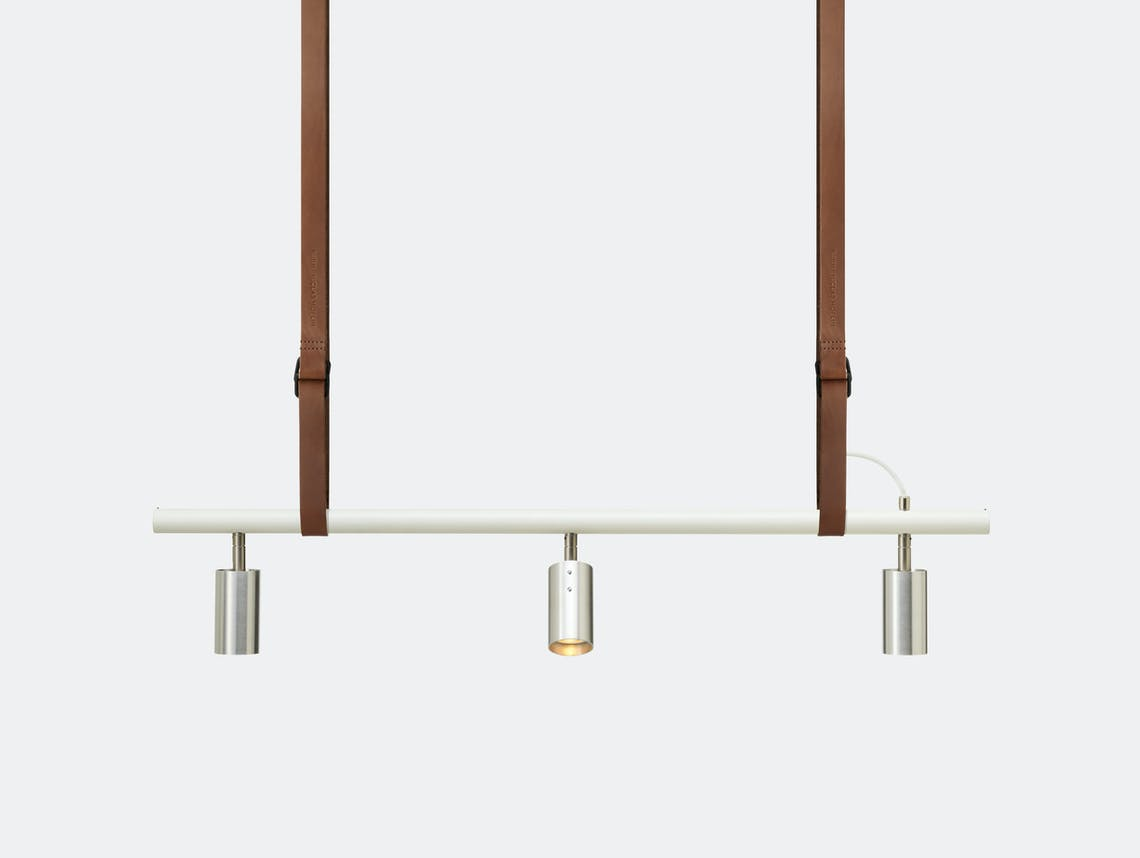 Rubn Long John 3 Pendant Light Brn Whi Ste Detail Niclas Hoflin