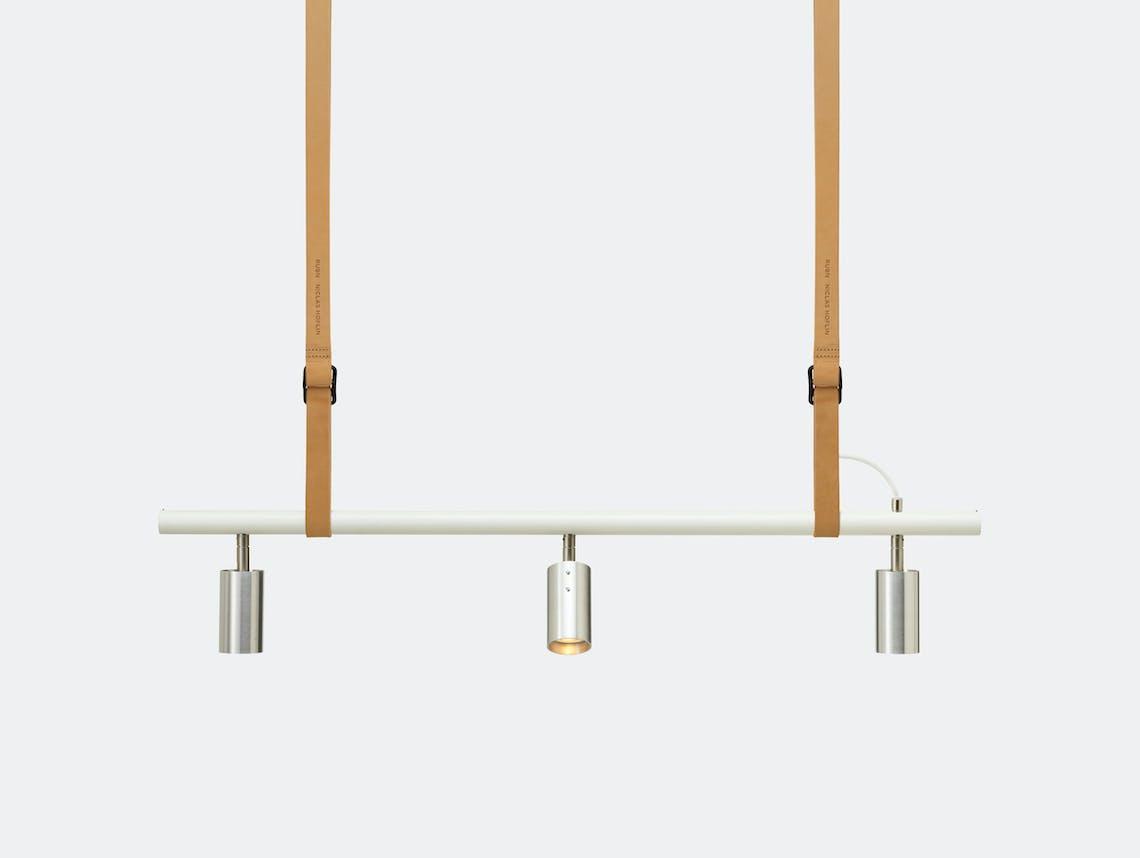 Rubn Long John 3 Pendant Light Nat Whi Stee Detail Niclas Hoflin