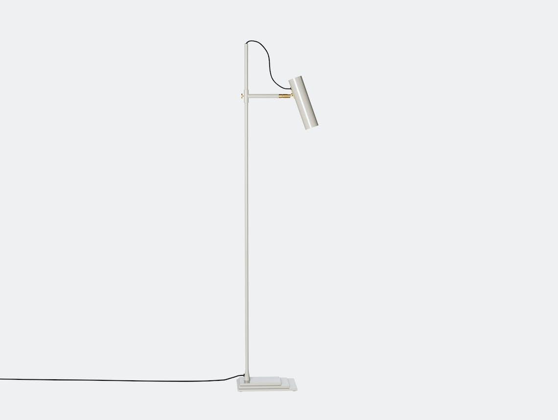 Rubn Nomad Floor Lamp Silk Grey Niclas Hoflin
