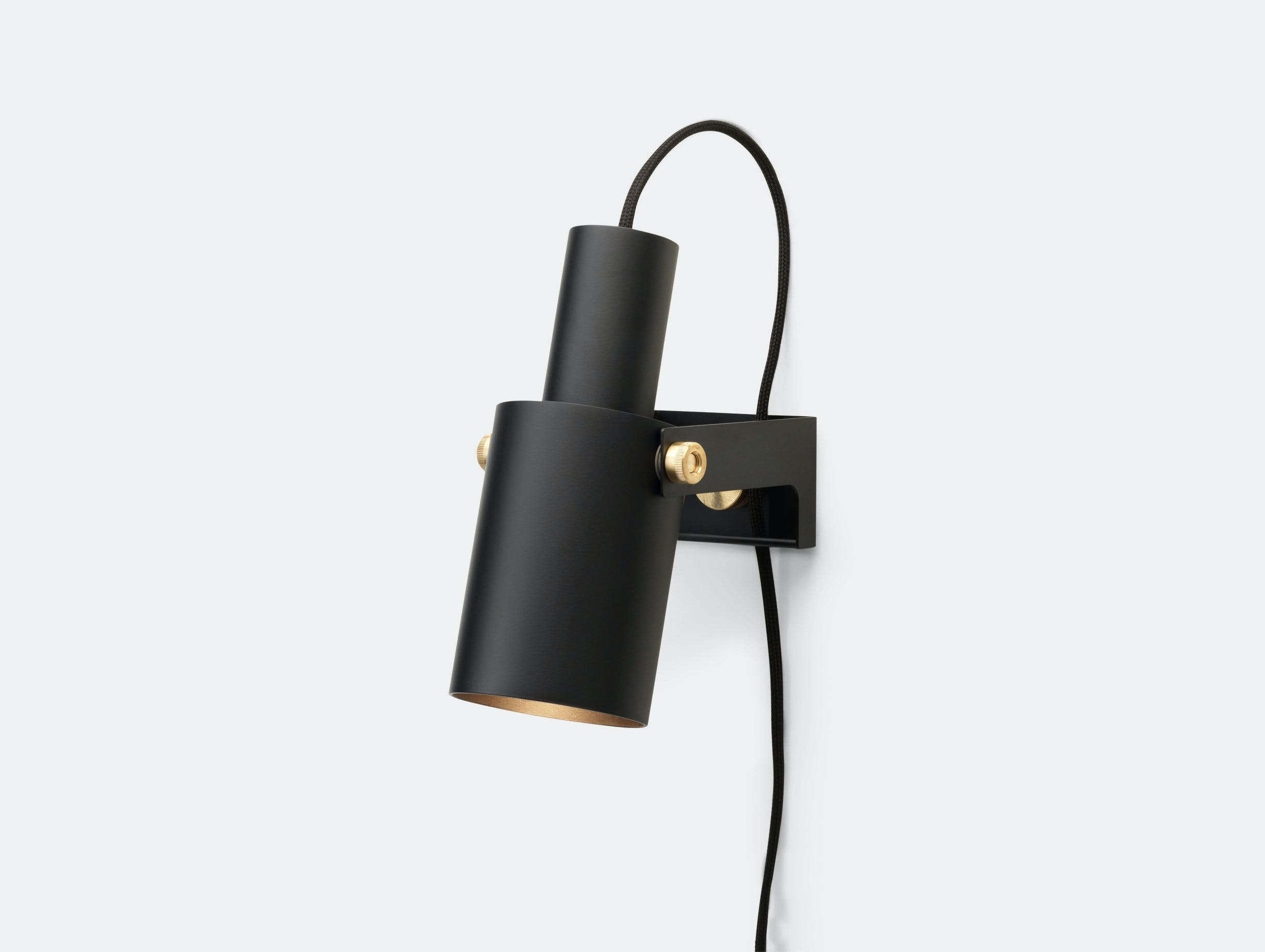 Rubn Volume 2 Wall Light Black Niclas Hoflin