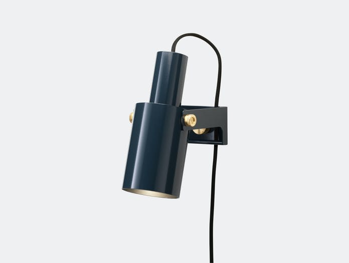 Rubn Volume 2 Wall Light Grey Blue Niclas Hoflin