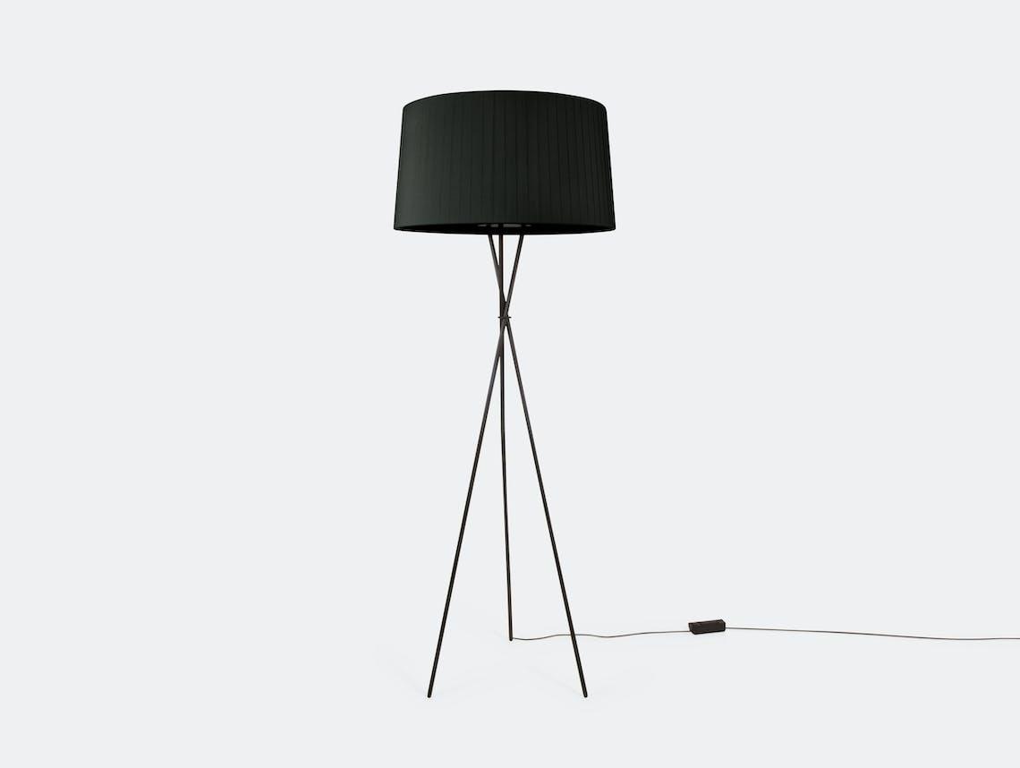 Santa And Cole Tripode G5 Floor Lamp Black