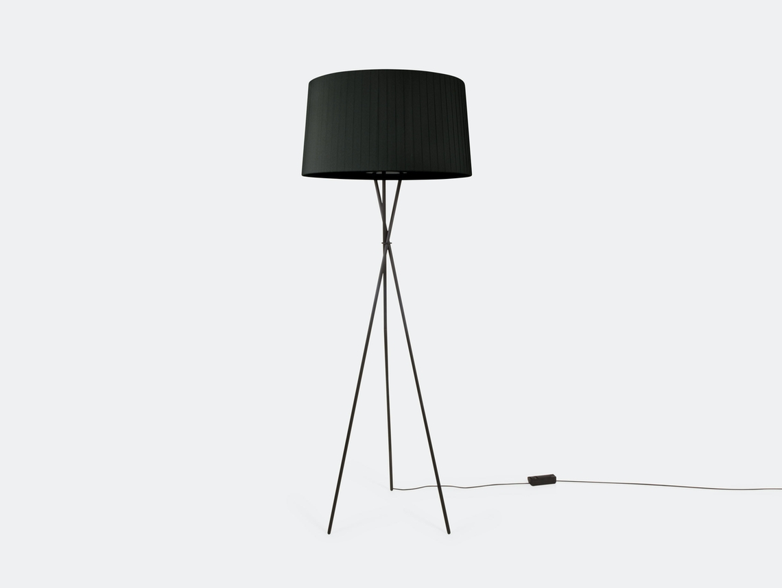 Santa And Cole Tripode G5 Floor Lamp Black